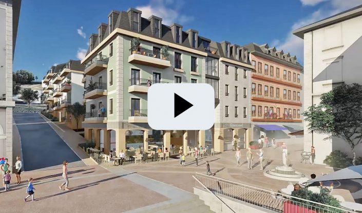 Film 3D | l'Ilot Saillet à Evian
