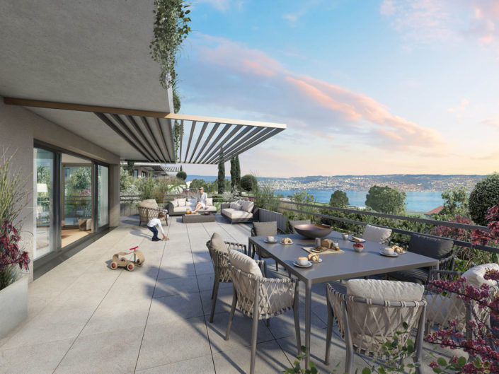 Terrasse 3D | Lac Leman Maxilly