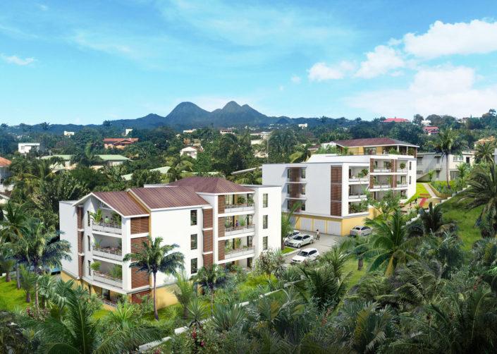Logements 3D | La Martinique