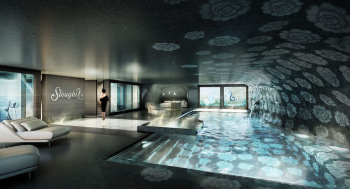 Piscine Chalet Sloughis 3D | Courchevel