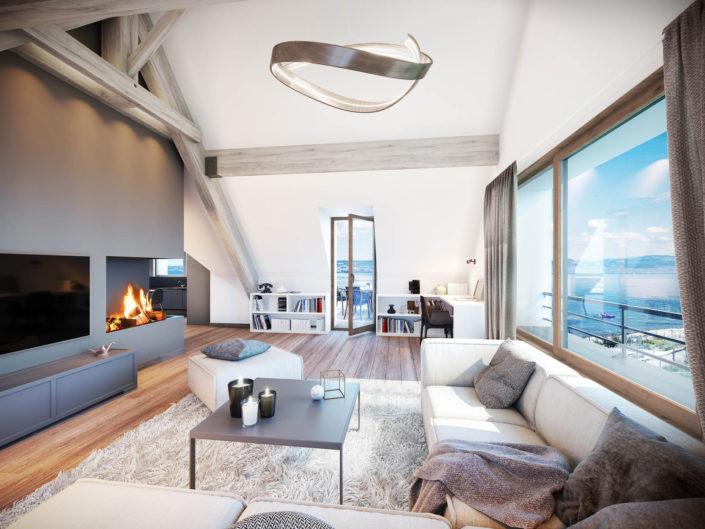 Villa Lac Leman 3D | Amphion Les Bains