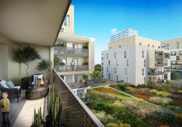Balcon 3D | Villeurbanne