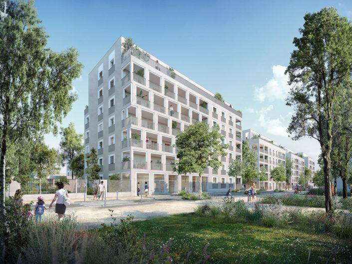 Logements 3D | Lyon 8