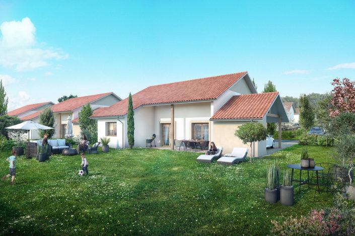 Jardin Maison | Salaise sur Sanne