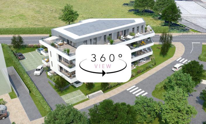 Tour 3D à 360° | Logements