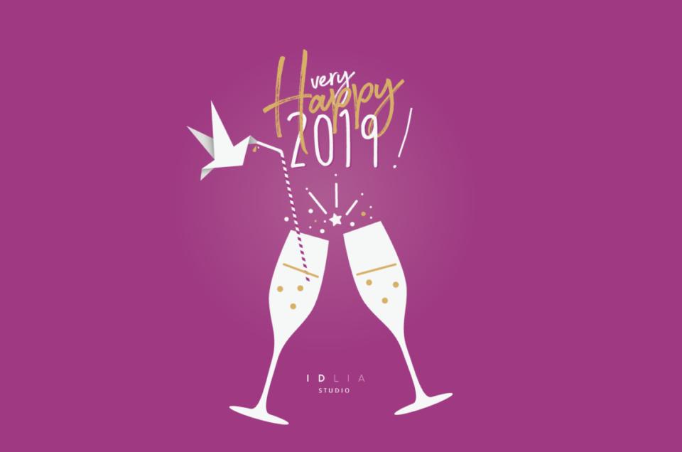 IDlia | Bonne année 2019 !