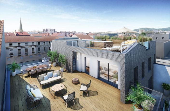 Terrasse 3D | Lyon