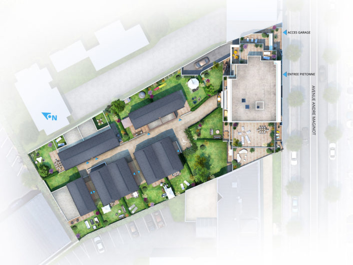 Plan masse 3D | LogementsTours