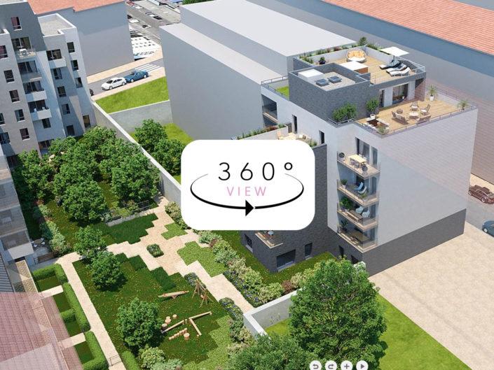 Tour 3D à 360° | Logements Lyon