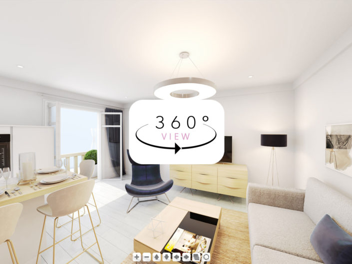 Visite virtuelle 360° | Résidence St Tropez