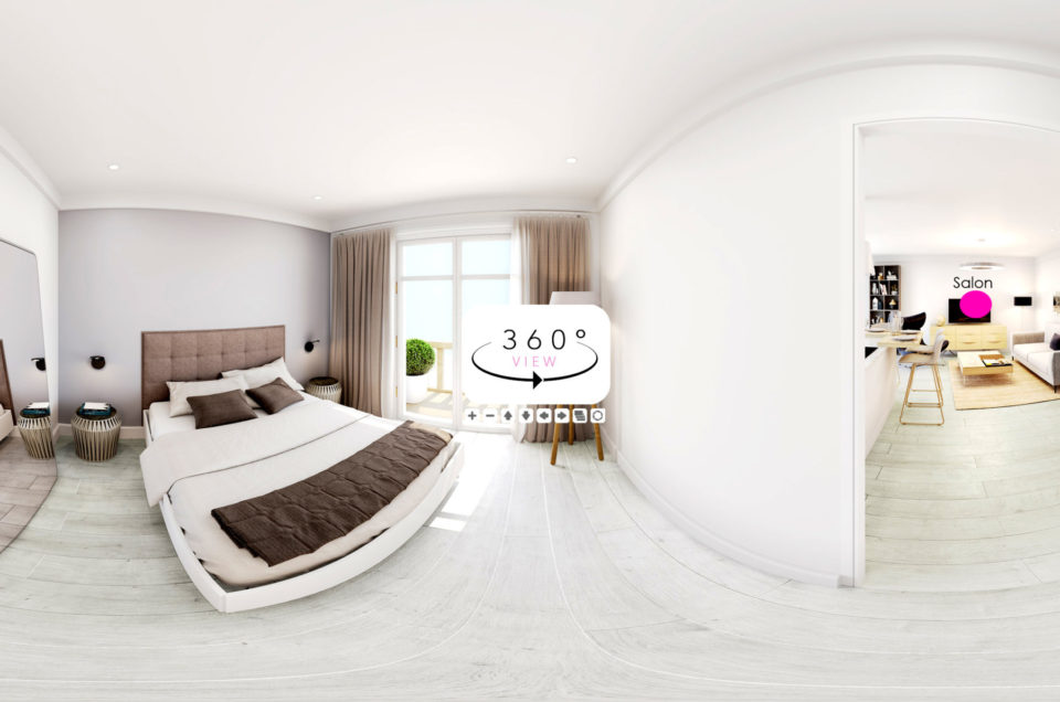 Appartement Saint Tropez | Visite virtuelle à 360°