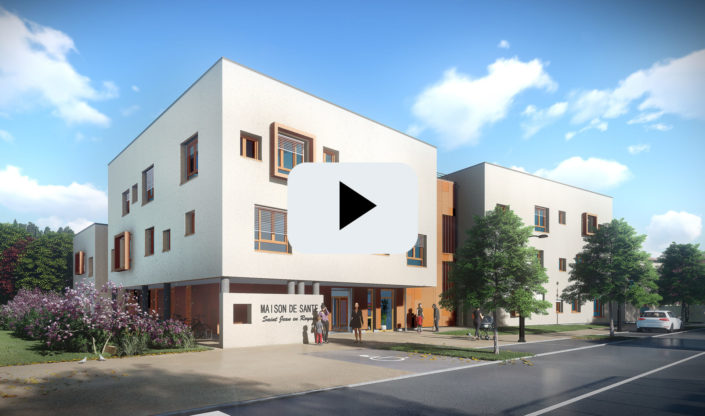 Animation 3D | Future maison de santé à St Jean en Royans