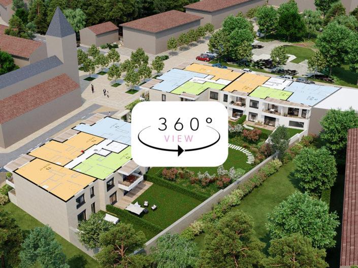 Tours 3D étage par étage à 360° | La tour de Salvagny