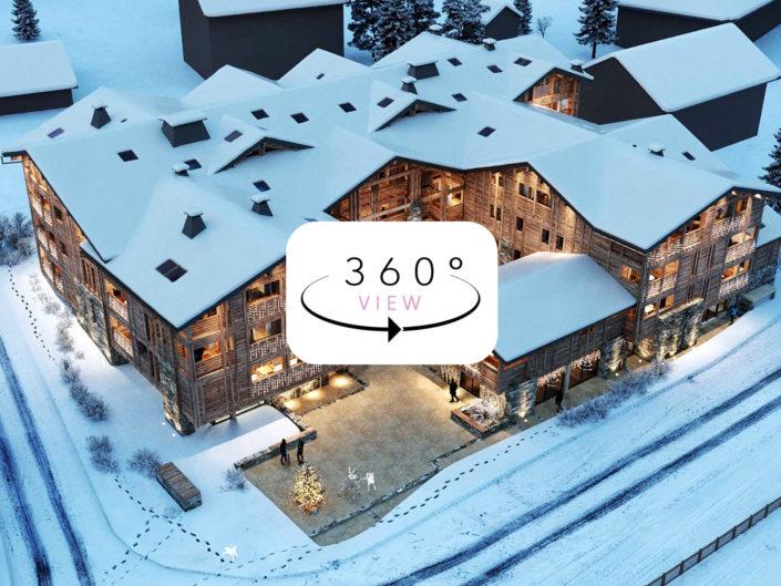 Tours 3D à 360° | Le Solaret, les Gets