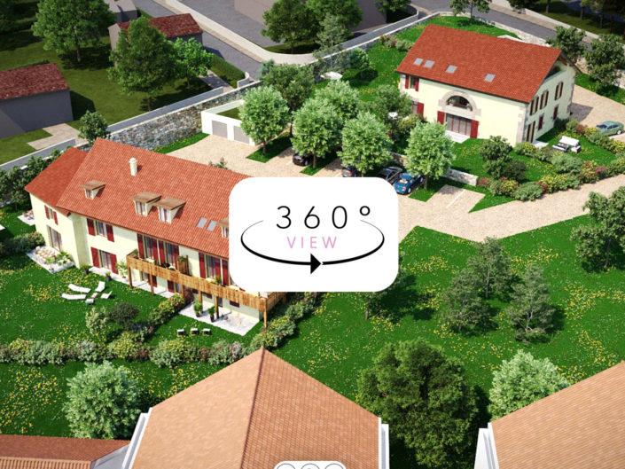 Tours 3D à 360° | Les Balcons du Parc, Voreppe